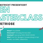 Open masterclass – Endometriose – mei 2021